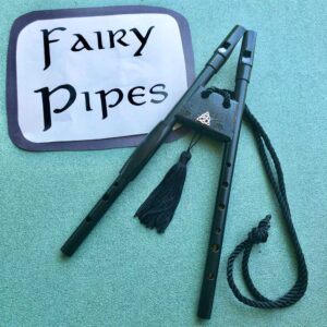 Fairy pipes and sign