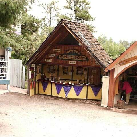 Our booth at the Colorado Renaissance Festival