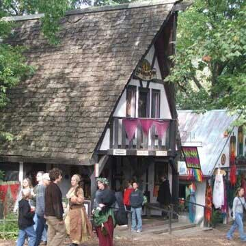 Our booth at the Kansas City Renaissance Festival